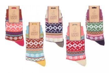 Ladies Socks AS870
